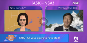 """Ask the NSA,"" Ken Jeong stops by Good Morning, Today to answer all your questions about privacy and love."