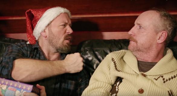 Brendan Small and Matt Walsh Celebrate Christmas