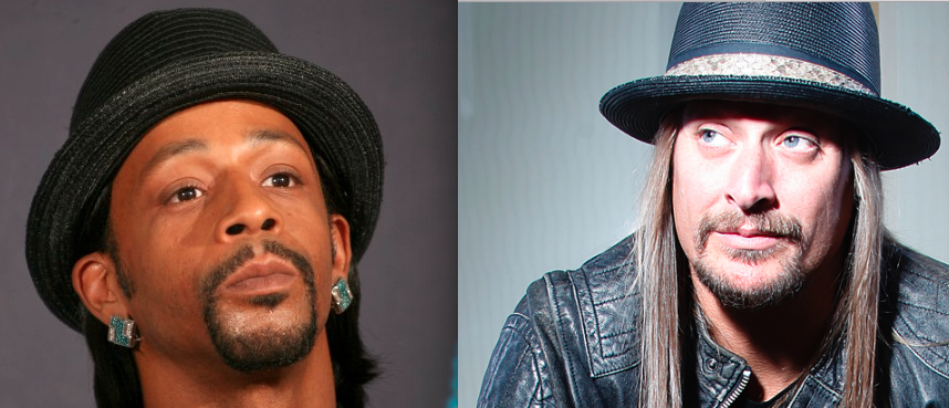 Katt Williams and Kid Rock Wearing Hats
