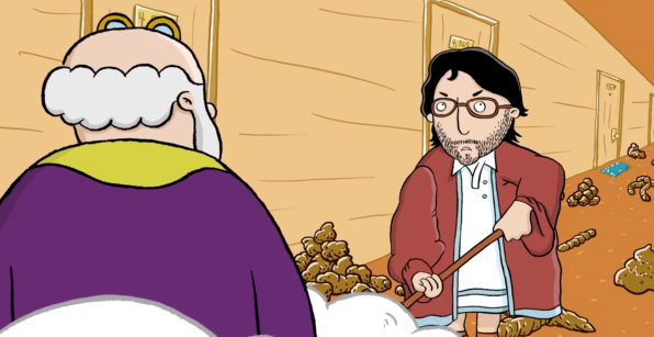 Noah's Ark Pilot staring Marc Maron, Jonathan Katz & Maria Bamford, written and created by Stephen and Joel.